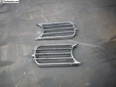 porsche 356 horn grilles