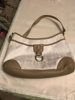 Bag/purse. White & beige. Never used