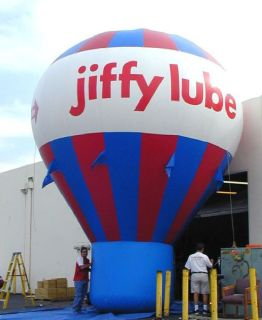 Gain the attention of your business by advertising in JD's Cold Air Balloons