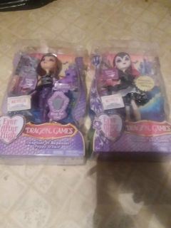 EVER AFTER HIGH DRAGON GAMES DOLLS