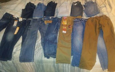 13 pairs of jeans!