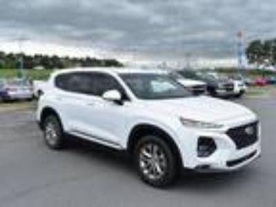2019 Hyundai Santa Fe White