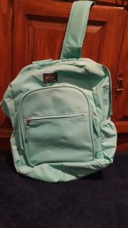 Turquoise back pack