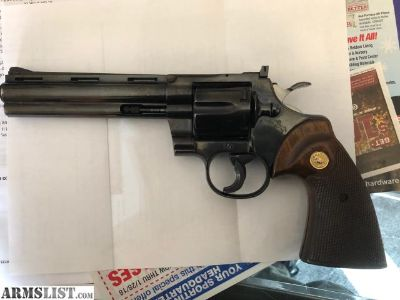 For Sale: Colt python