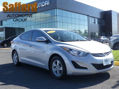 2014 Hyundai Elantra GLS (Shimmering Air Silver)