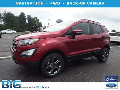 2018 Ford EcoSport SES 4WD (Ruby Red Metallic Tinted Clearcoat)