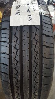 1 BF GOODRICH NEW TIRE 205/65/16