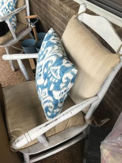 Porch chair set of two