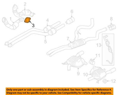Find BMW OEM 09-16 Z4 3.0L-L6 Exhaust-Manifold Gasket 18307553603 motorcycle in Shrewsbury, Massachusetts, United States, for US $20.39