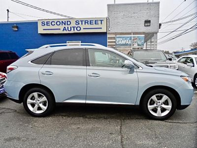 2010 Lexus RX 350 Base (Blue Granite Metalli)
