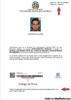 TRADUCCIONES CERTIFICADAS DE ANTECEDENTES PENALES PARA INMIGRACION