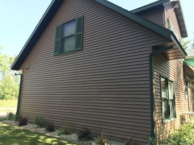 Vinyl Siding from a Cottage