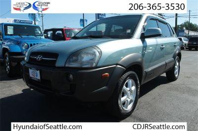 2005 Hyundai Tucson GLS (Green)