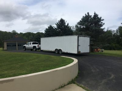 28 Team Spirit Enclosed Trailer