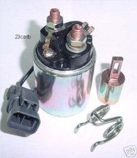 Sell STARTER SOLENOID NISSAN MAXIMA D21 PATHFINDER 1985-1996 S114-430 S114-439 & MORE motorcycle in Lexington, Oklahoma, US, for US $48.95
