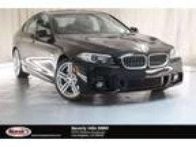 Used 2016 BMW 5 Series Black, 32K miles