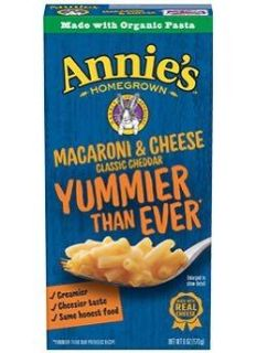 Annie s Macaroni and Cheese Classic Cheddar