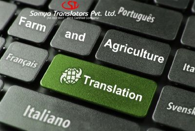 Farm and Agriculture translation service in Mumbai India
