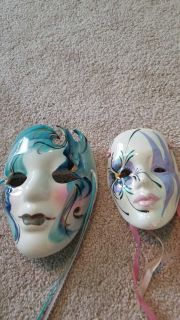 Hand painted mask