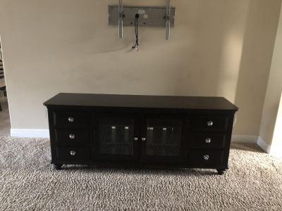Tv stand media console large