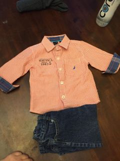 Nautical outfit- boys 24 months