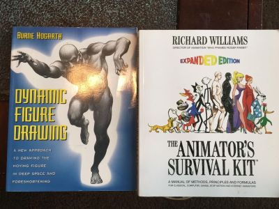 Dynamic drawing and animation books