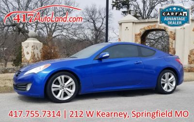 2011 Hyundai Genesis Coupe 3.8L Grand Touring (Blue)