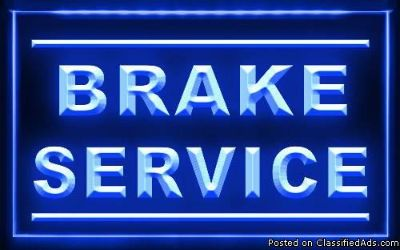 Brake Pads Installed In Shop 40.00 Labor ~ Your Pads ~ Why Pay More??