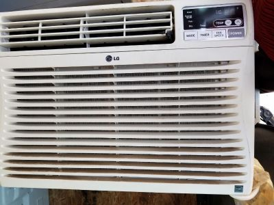 2 LG Window Air Conditioners