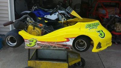 Find Race ready Gangster with a honda 6.5 circle track motorcycle in Kouts, Indiana, US, for US $1,200.00