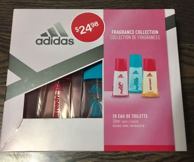 Ladies Adidas Fragrance Collection