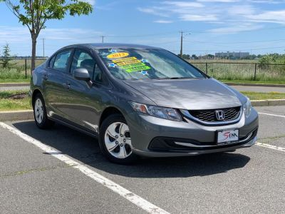 2013 Honda Civic LX (Gray)