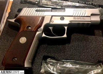 For Sale: Sig Sauer E26R-9-SSE P226 Elite Stainless 15+1 9mm 4.4""