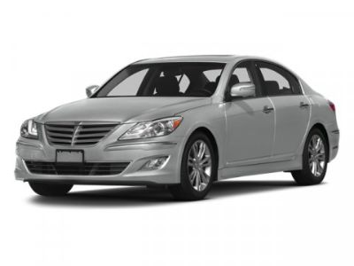 2013 Hyundai Genesis 3.8L V6 (Black Noir Pearl)