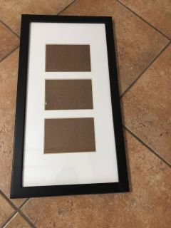 1.5 x3 frame with 3 4x5 openings