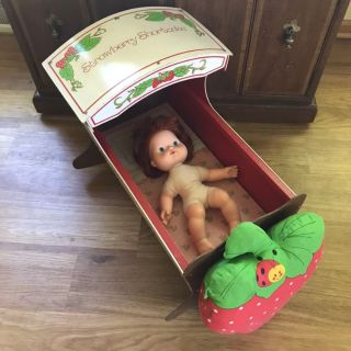 Vintage Strawberry Shortcake Baby Doll Set