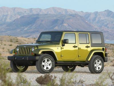 2008 Jeep Wrangler Unlimited X (Black)