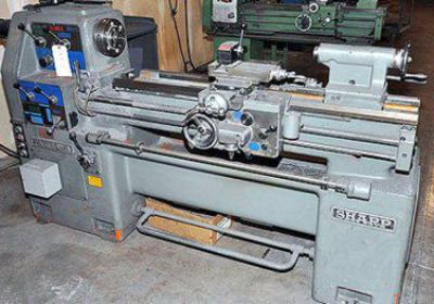 $5,900, Sharp Lathe 16 x 40 H Nice Toolroom Lathe Nice For Sale