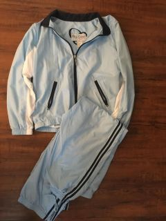 Gym suite jacket and pants