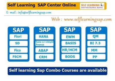 SAP all Modules Available Best OFFER, Best Price and COMBO COURSES in SELF LEARNING CENTER at.