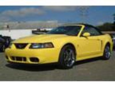 Used 2003 Ford Mustang SVT Cobra Convertible