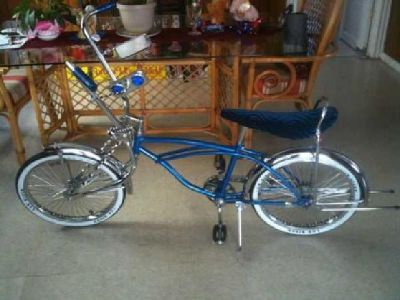$250 lowrider bike blue