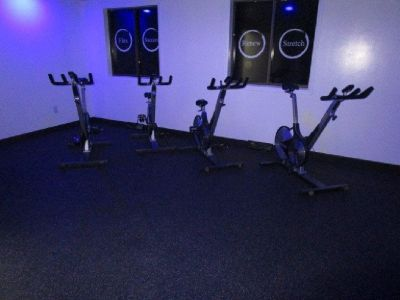 (5) Keiser M3 Stationary Bike, Monitor, and Mats RTR#8063294-20