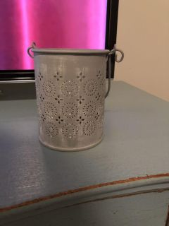 Cute punched can candle holder. Ppu Spring Hill