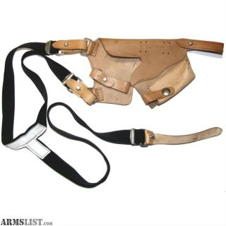 For Sale: P64 Leather Shoulder Holster