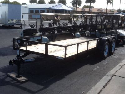 2018 Triple Crown 6X16 Utility Trailer Utility Trailers Fort Pierce, FL
