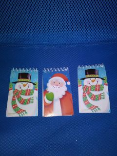 SMALL CHRISTMAS NOTEPADS