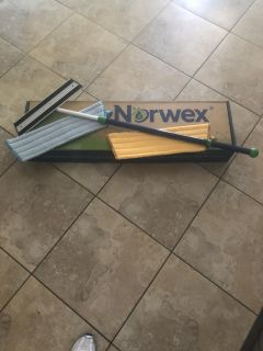 BRAND NEW! Norwex mop with dry and wet pads