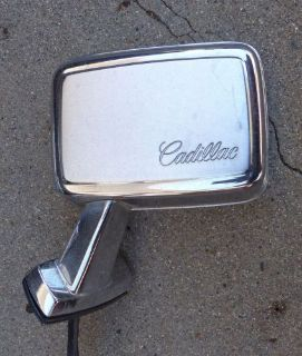 Purchase 1969 1970 69 70 Cadillac deville calais fleetwood drivers side remote mirror motorcycle in Orangevale, California, United States, for US $40.00