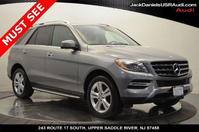 2014 Mercedes-Benz M-Class ML350 4MATIC (Gray)